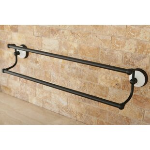 Victorian Double 24 Wall Mounted Towel Bar by Kingston Brass