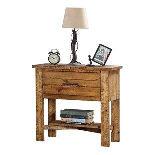 Hubert 1 Drawer Nightstand by Harriet Bee