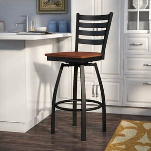 Bartlet 30.25 Swivel Bar Stool Andover Mills