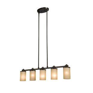 Amal Contemporary 5-Light Kitchen Island Pendant by Red Barrel Studio