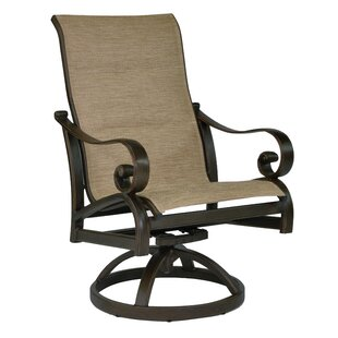 Veracruz Sling Swivel Rocking Chair