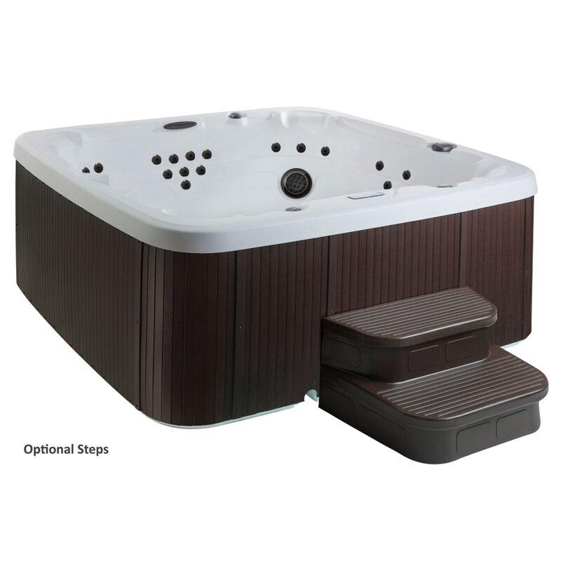 Keys Backyard Hot Tub Control Panel