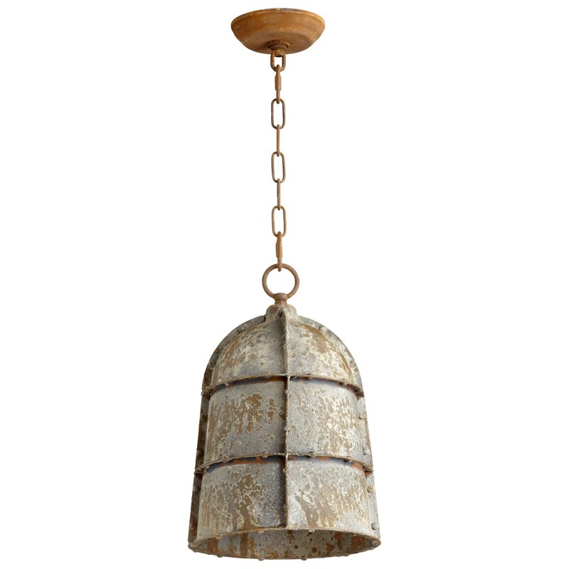 Cyan Design 1 Light Single Bell Pendant