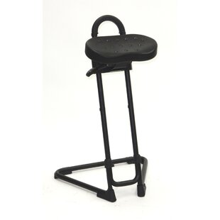 Height Adjustable Sit Stand With Swivel Seat by ShopSol Sale