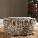Handler Tufted Pouf Ottoman by World Menagerie