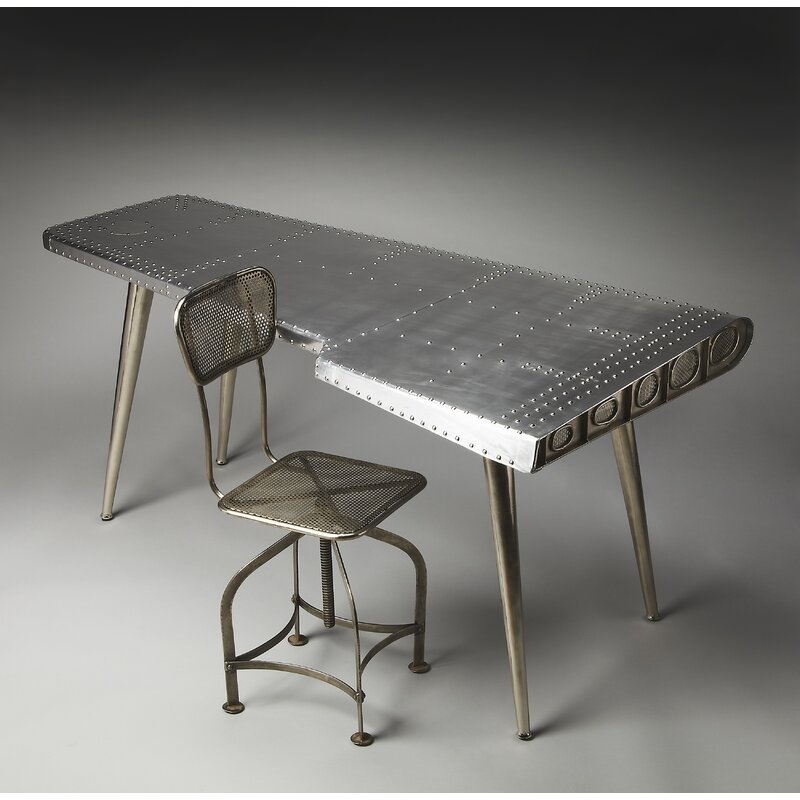 India Aviator Desk And Chair Set
