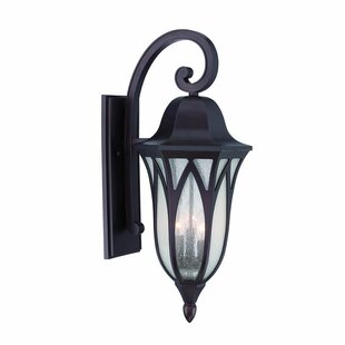 Besaw 3-Light Outdoor Wall Lantern