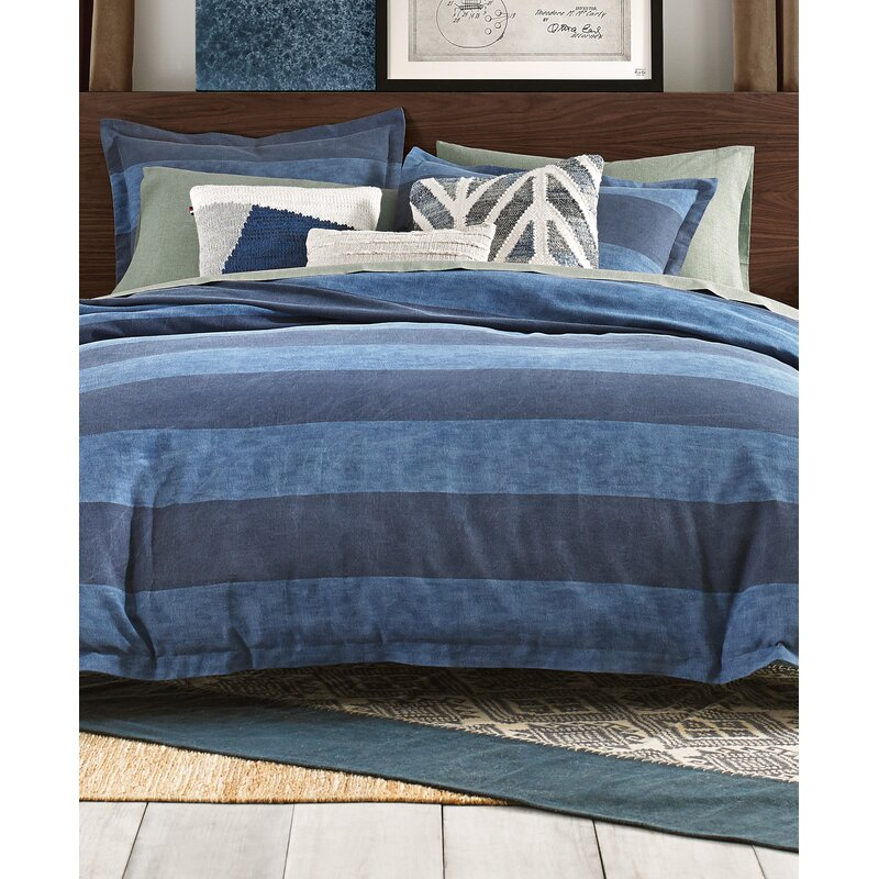 c30088fb3 Tommy Hilfiger Cabana Stripe 100% Cotton Comforter Set | Wayfair