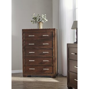 Gracie Oaks Robertsdale 5 Drawer Chest