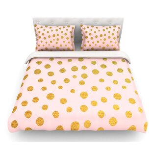 Dots by Nika Martinez Featherweight Duvet Cover