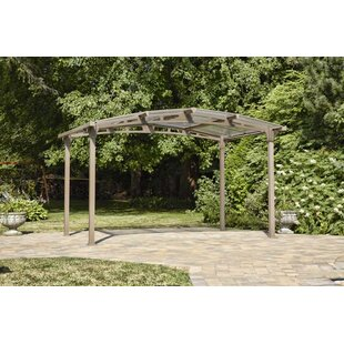 Gazebo Penguin Lotus 12 Ft. W x 9.4 Ft. D Metal Patio Gazebo
