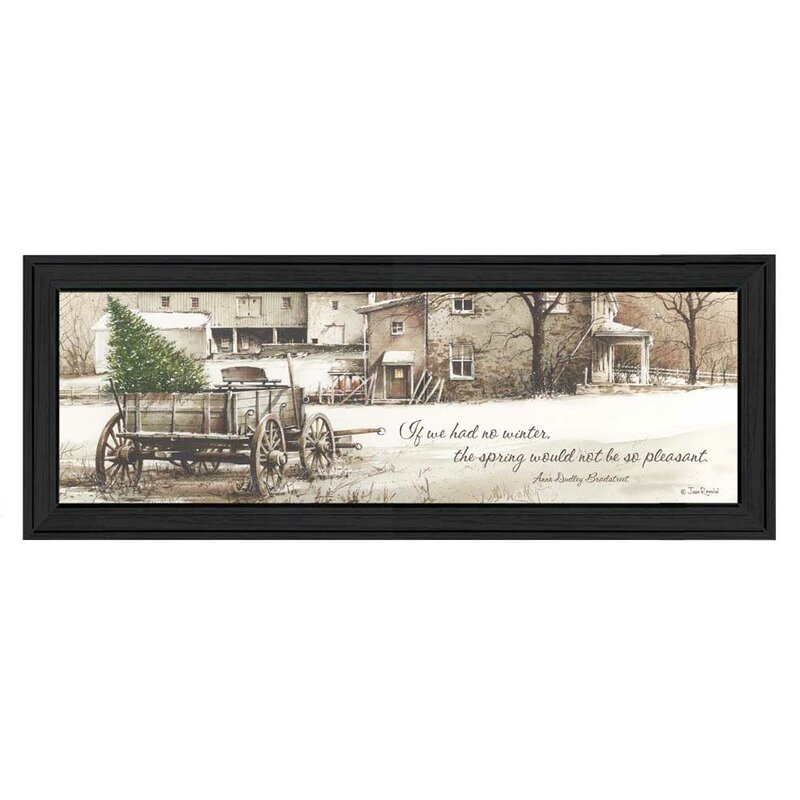 ÕWinterÕ Framed Graphic Art Print