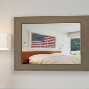 Price comparison Handcrafted Wall Mirror By Darby Home Co