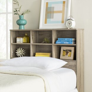 Check Prices Andrews Elegant Bookcase Headboard with 6 Shelves by Trule Teen