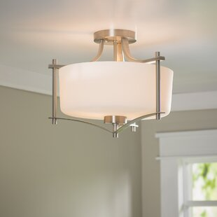 Dupre Semi Flush Mount by Millwood Pines