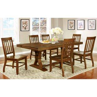 Jared 7 Piece Dining Set Hokku Designs