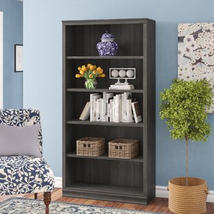 Caines Standard Bookcase by Andover Mills Cheap