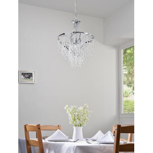 Caruso 3-Light Crystal Chandelier
