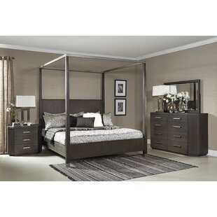 Tribeca Studio Canopy 3 Piece Bedroom Set