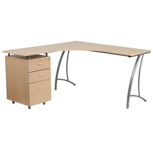 Nystead L-Shaped Corner Desk By Latitude Run