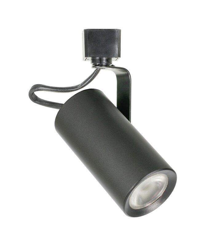 Jesco lighting 1 light cob led h track head reviews wayfair 1 light cob led h track head aloadofball Images