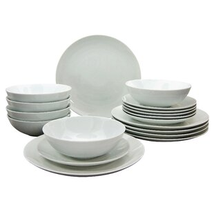 660cf9004677 Campo 18 Piece Dinnerware Set, Service for 6