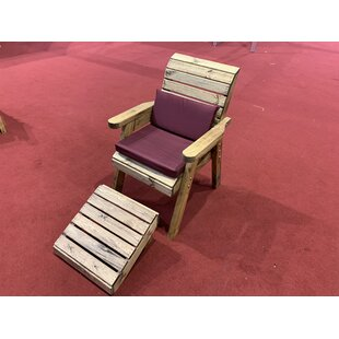 Farrar Garden Chair With Cushion By Union Rustic