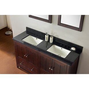 Review 59.5 Double Bathroom Vanity Set by American Imaginations