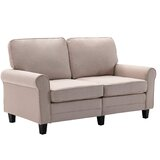 Anitza 61 Rolled Arm Loveseat by Red Barrel Studio®