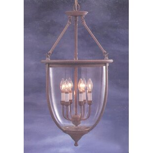 Classic Lighting Asheville 6-Light Urn Pe..