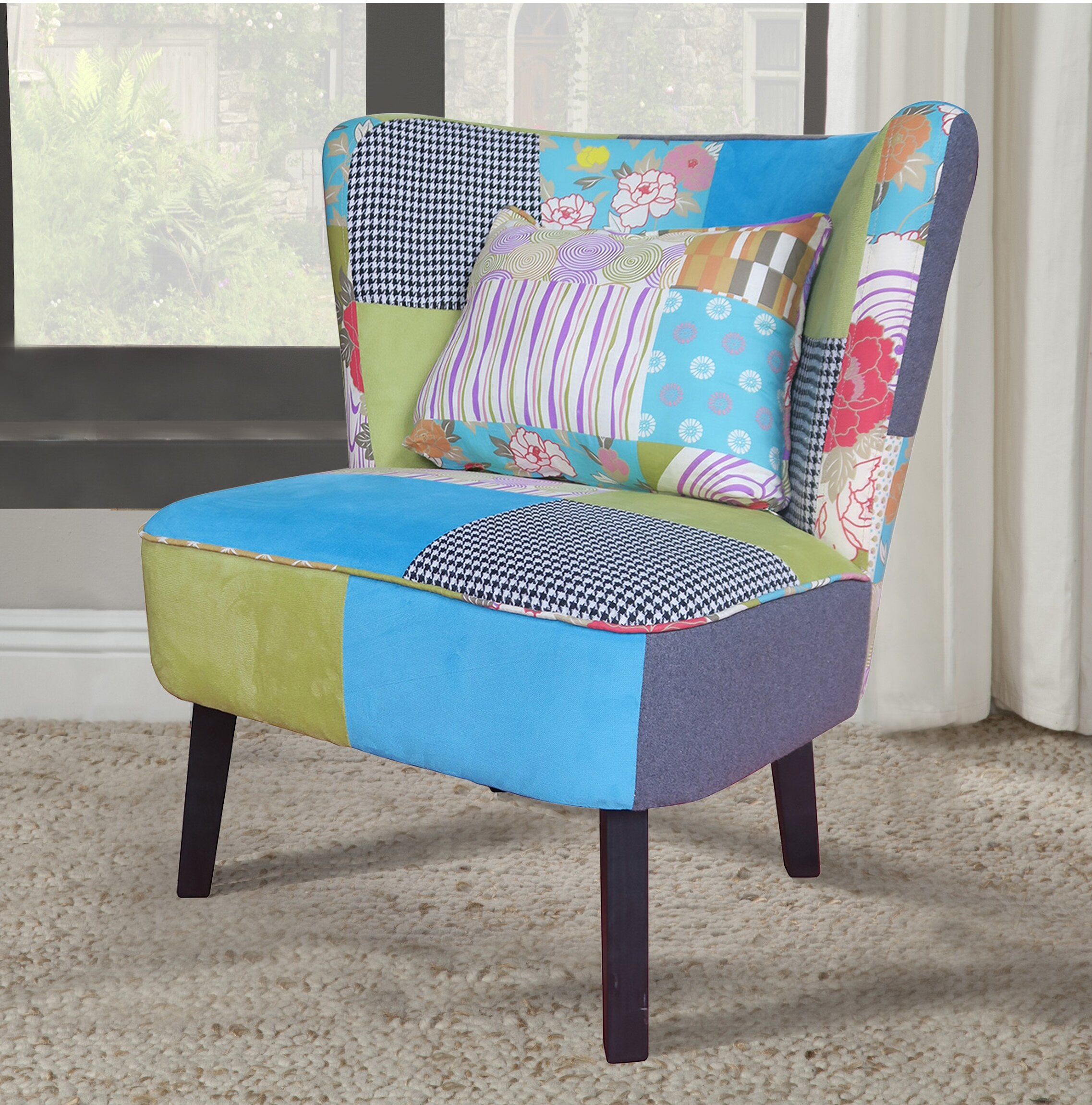 Floral Ebern Designs Accent Chairs You Ll Love In 2021 Wayfair