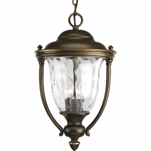 Triplehorn 3-Light Hanging Rubbed Lantern