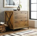 Hooker Furniture Rustique 2 Drawer Lateral Filing Cabinet