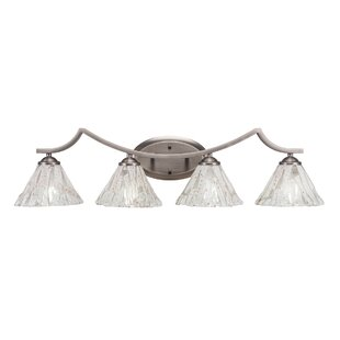 Coupon Couto 4-Light Vanity Light By Red Barrel Studio