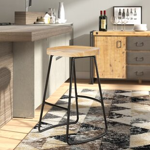 Read Reviews Barker 29.5 Bar Stool by Williston Forge Reviews (2019) & Buyer's Guide