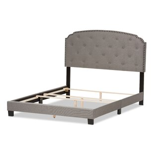 Wholesale Interiors Mariana Fabric Upholstered Panel Bed