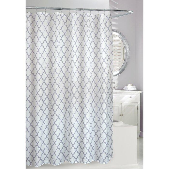 Moda At Home Frette Faux Linen Shower Curtain & Reviews | Wayfair.ca