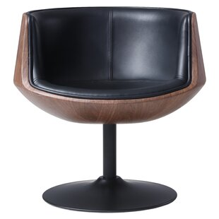 Orren Ellis Rudd Swivel Barrel Chair