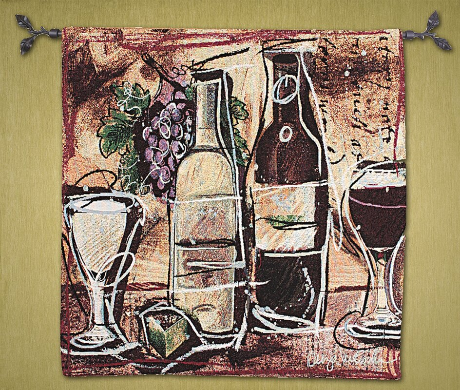 Wine and Cheese Tapestry