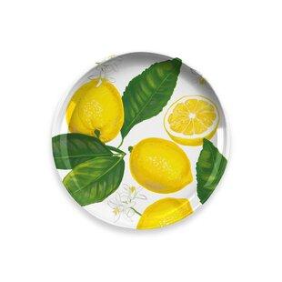Lemon Fresh Salad Plate (Set Of 4) By Tar Hong
