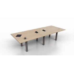 Rectangular 29.25H x 48W x 144L Conference Table Trendway