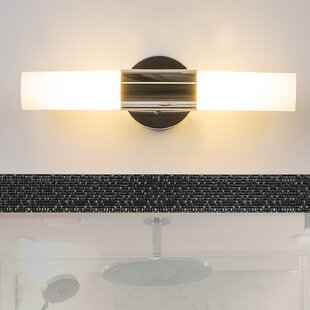 Reviews Florine 2-Light Armed Sconce By Linea di Liara