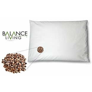 CUL Distributors Balance Living Buckwheat Twin Memory Foam Standard Pillow