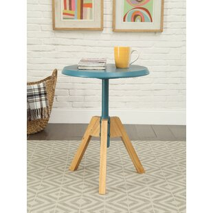 Bradsher Mid-Century End Table by Wrought Studio