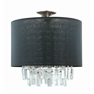 Piccadilly 3-Light Semi Flush Mount by DVI