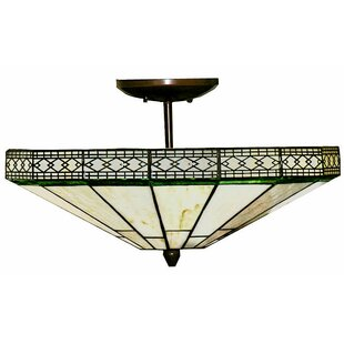 Province 2-Light Semi Flush Mount by Astoria Grand