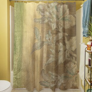 Analisa Floral Single Shower Curtain