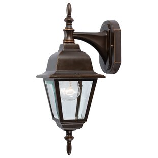 Top Reviews 1-Light Outdoor Wall Lantern By Hardware House