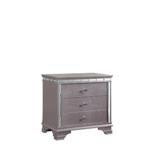 Find a Ellar 3 Drawer Nightstand by Everly Quinn