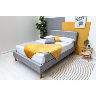 Crissman Upholstered Bed Frame With Mattress By Corrigan Studio